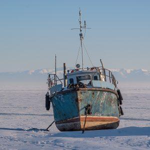 Dérivation sur l'océan d'une nappe de pollution mystérieuse au Kamtchatka